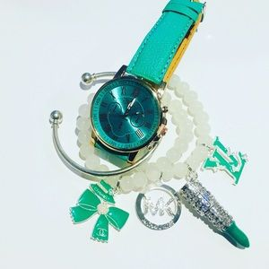 Accessories - Green Watch